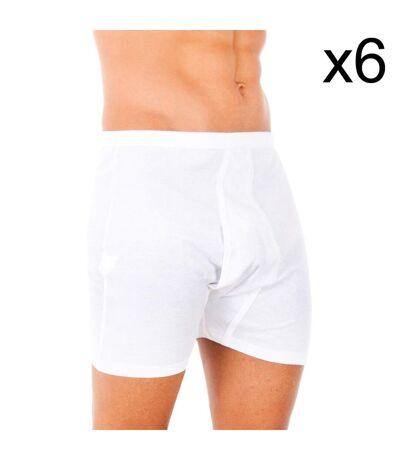 Pack-6 100% classique boxer de coton
