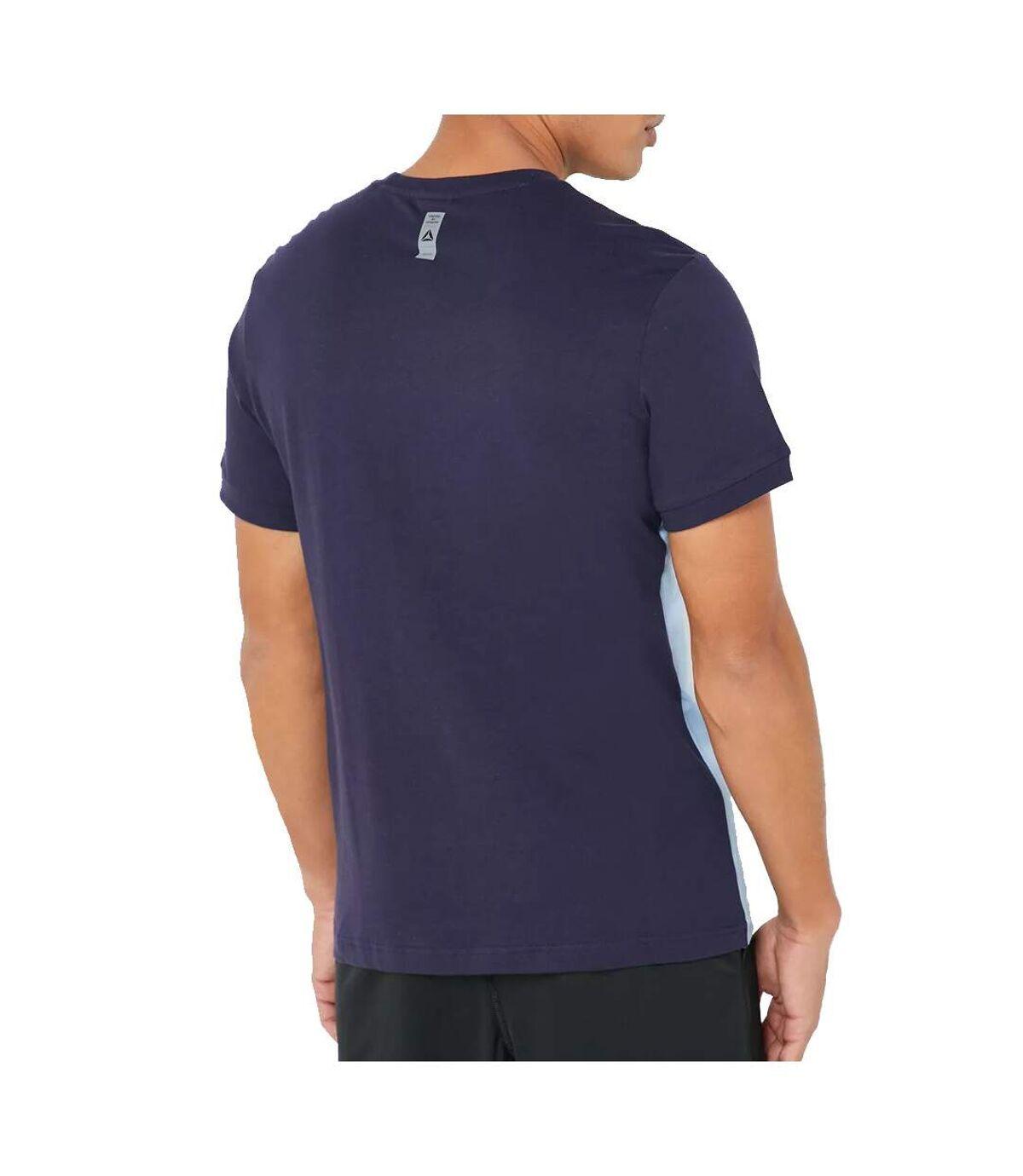 T-shirt bleu homme Reebok Les Mills