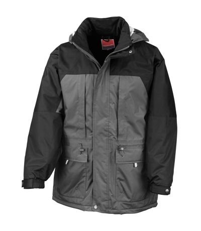 Result Mens Multi-Function Winter Jacket (Black/ Black) - UTRW3232