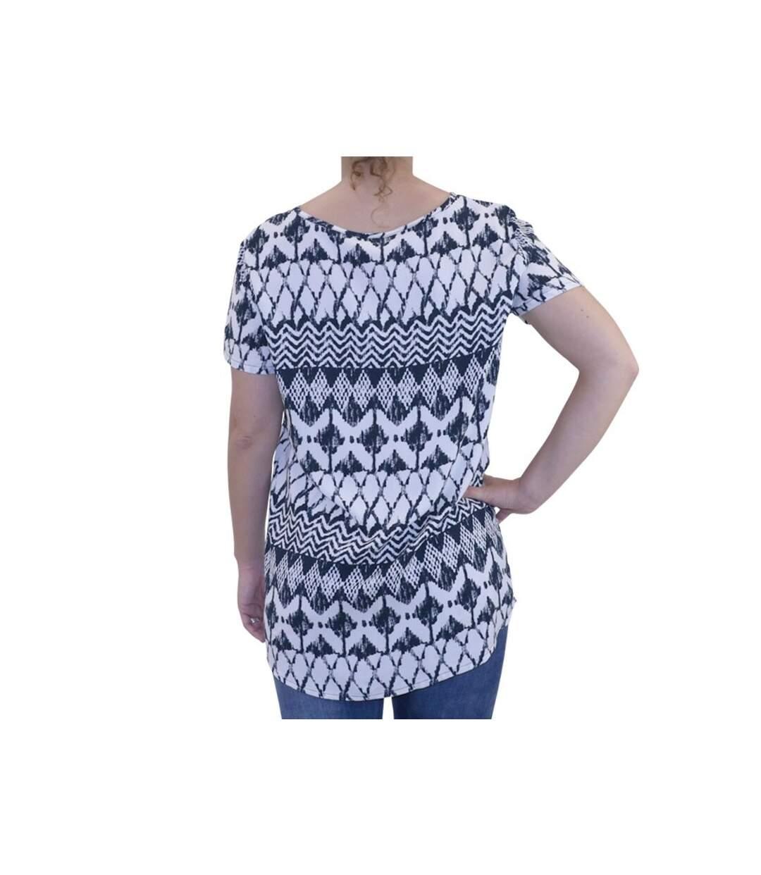 Dégagement Tee shirt  Epic blanc Femme Jacqueline de Yong dsf.d455nksdKLFHG