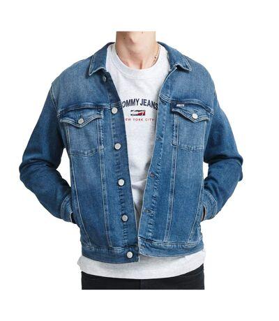 Veste en jean bleu homme Tommy Jeans Trucker