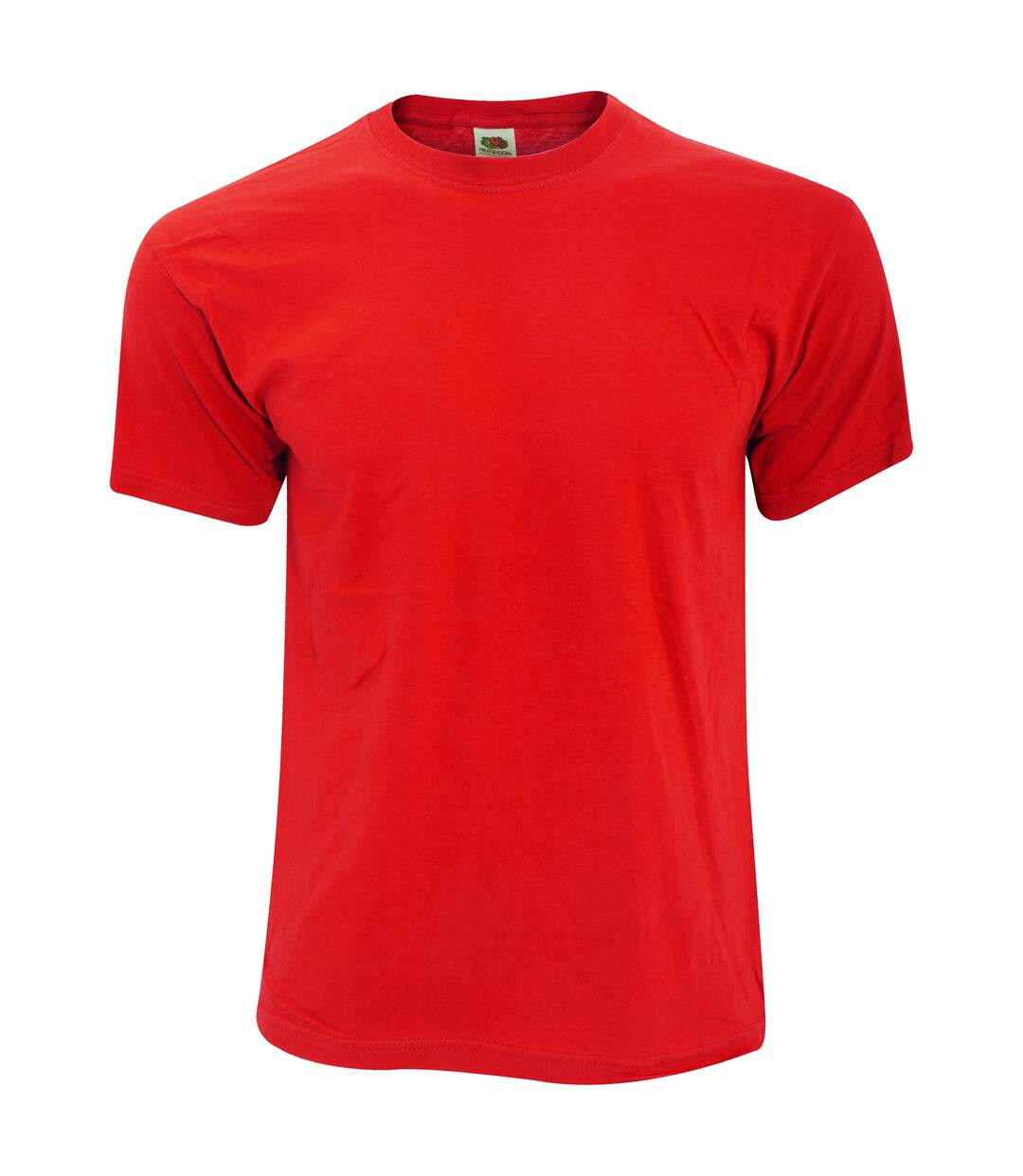 Fruit Of The Loom - T-shirt ORIGINAL - Homme (Rouge) - UTBC340