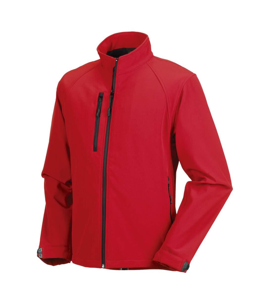 Russell Mens Water Resistant & Windproof Softshell Jacket (Black) - UTBC562