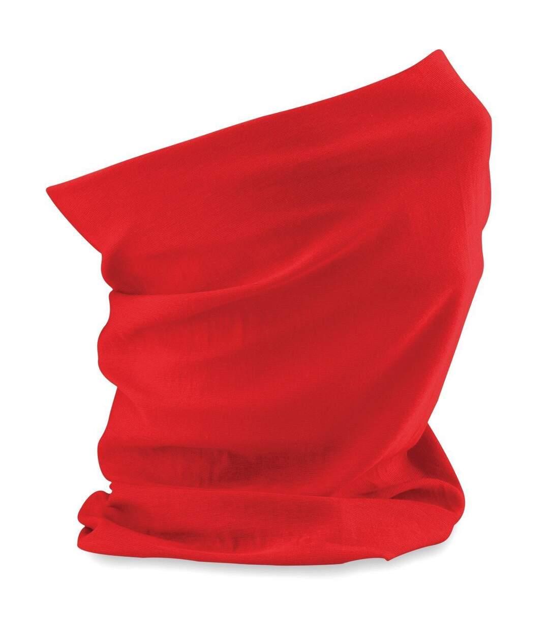 Echarpe tubulaire - tour de cou adulte - B900 - rouge bright