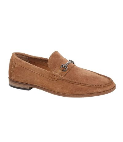 Roamers Mens Suede Slip-on Casual Shoes (Sand) - UTDF1944
