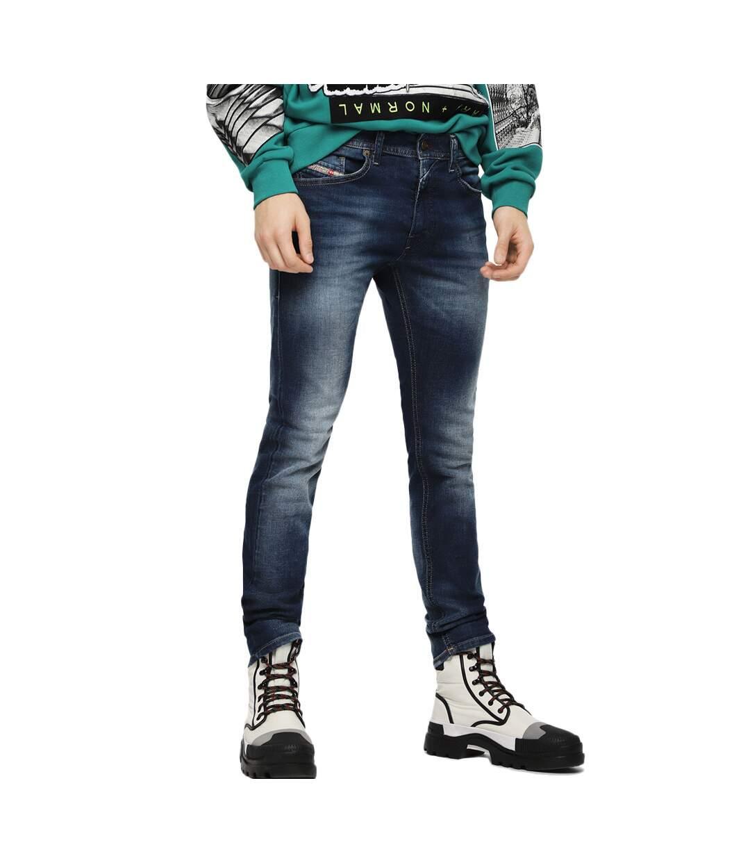 Jean bleu homme Diesel Thommer L.32 Pantaloni