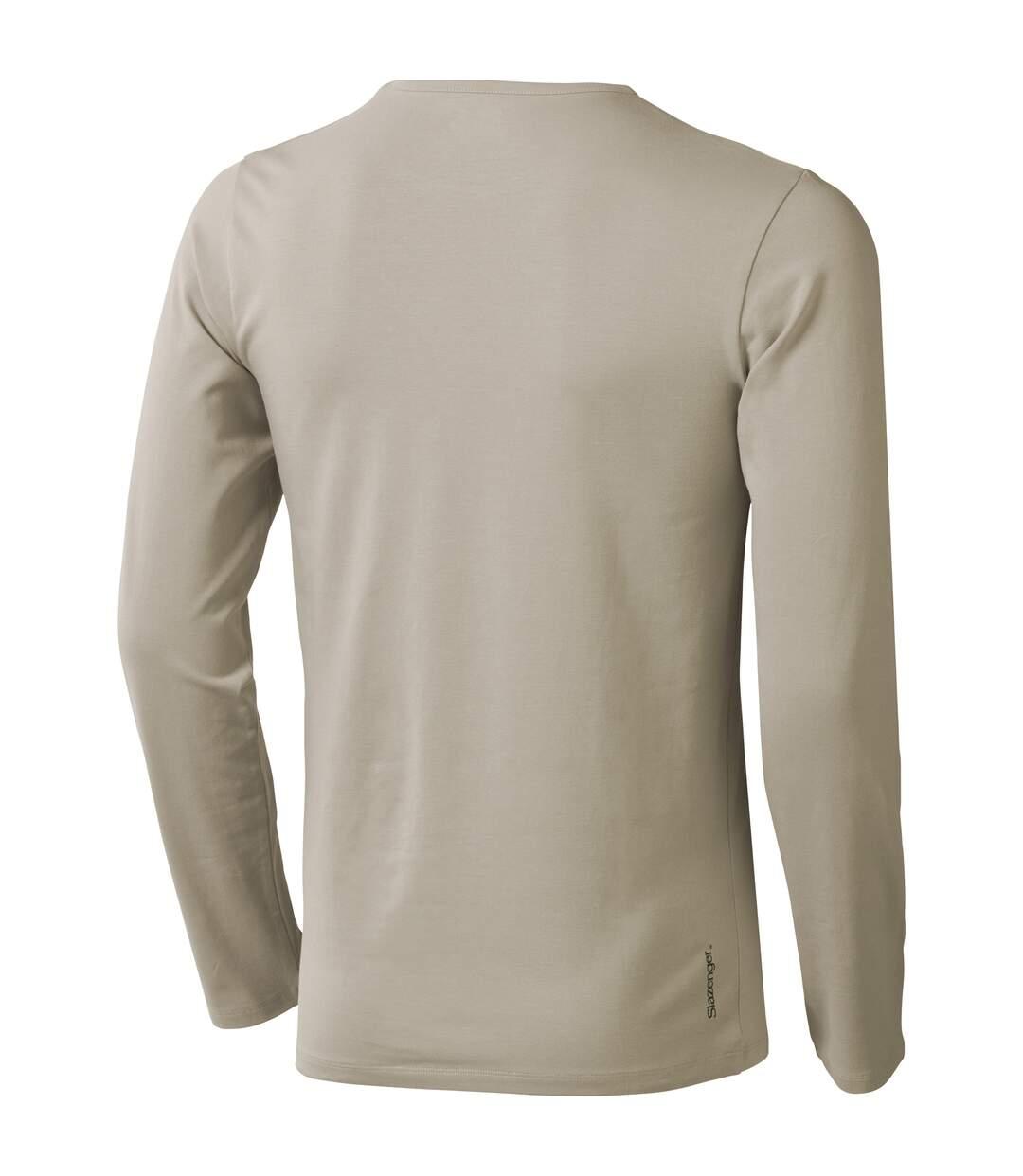 Slazenger - T-shirt manches longues Curve - Homme (Gris) - UTPF1725