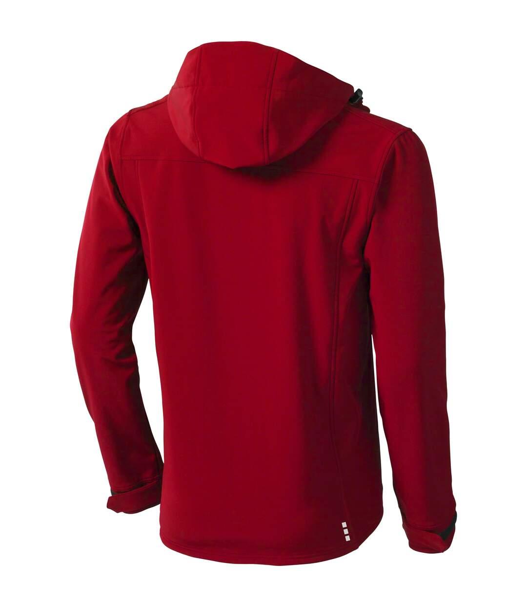 Elevate Mens Langley Softshell Jacket (Red) - UTPF1907