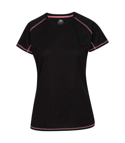 Trespass - T-Shirt de sport VIKTORIA - Femme (Noir) - UTTP4668