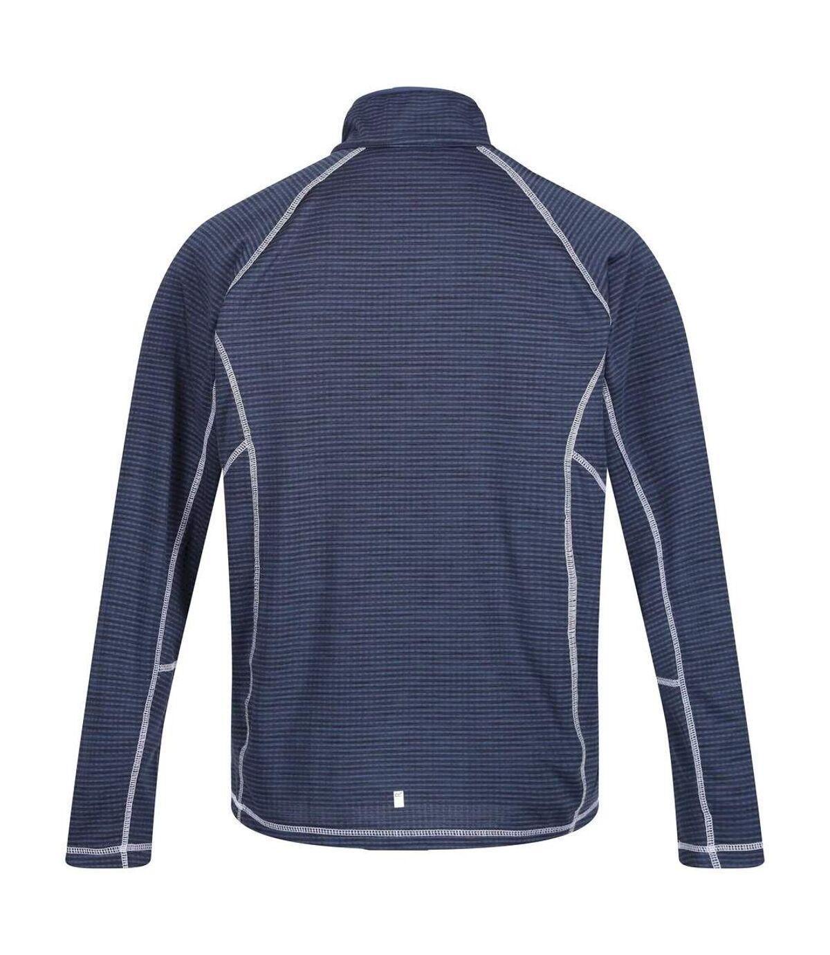 Regatta Mens Yonder Quick Dry Moisture Wicking Half Zip Fleece Jacket (True Red) - UTRG3786