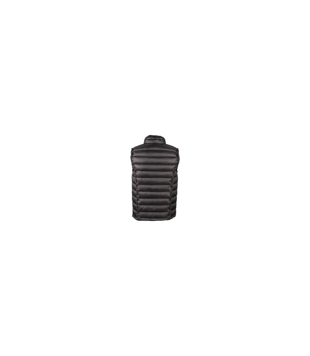 Gilet sans manche matelassé duvet HOMME - JN1080 noir - doudoune anorak
