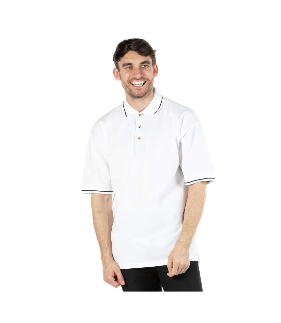 Kustom Kit Mens St. Mellion Mens Short Sleeve Polo Shirt (Black/Yellow) - UTBC615