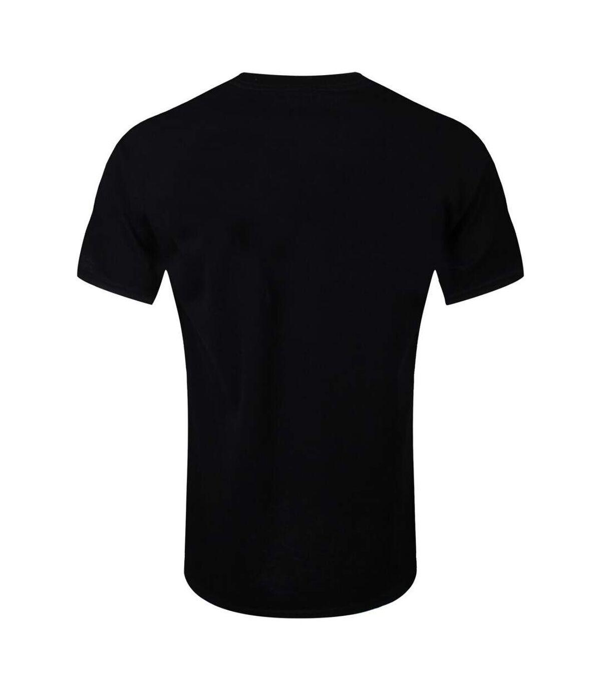 Captain America Civil War Mens Crossbones Logo T-Shirt (Black) - UTNS5564