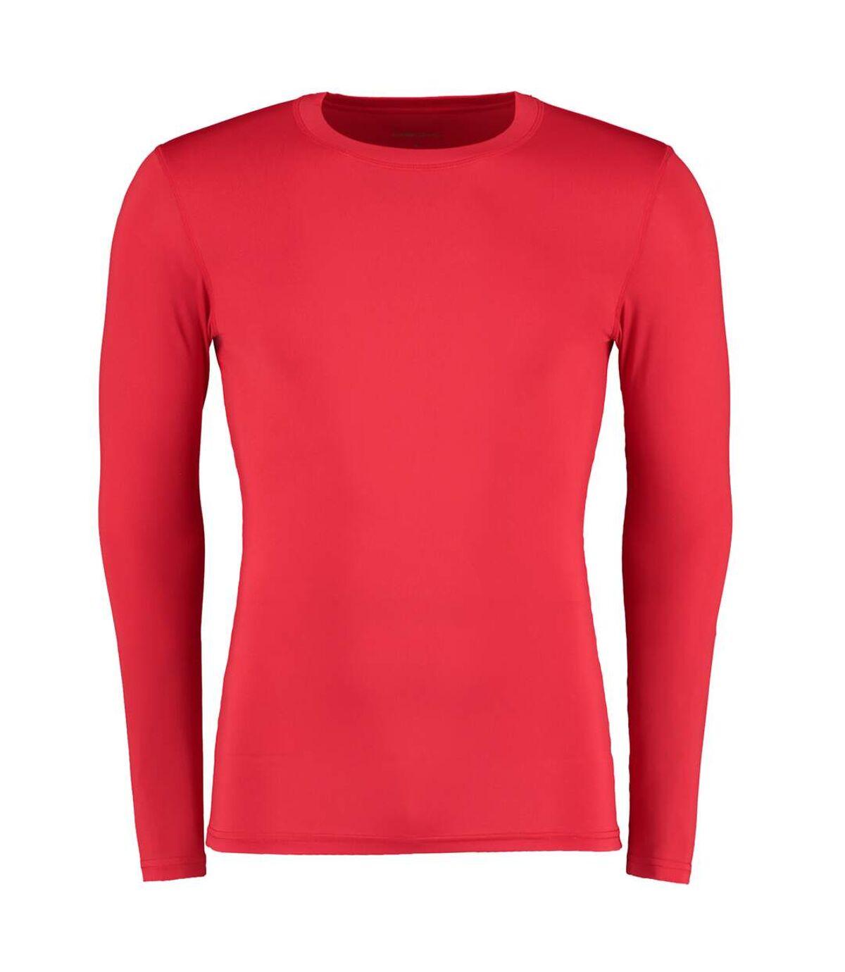 Gamegear® Warmtex - T-shirt thermique à manches longues - Homme (Rouge) - UTBC438
