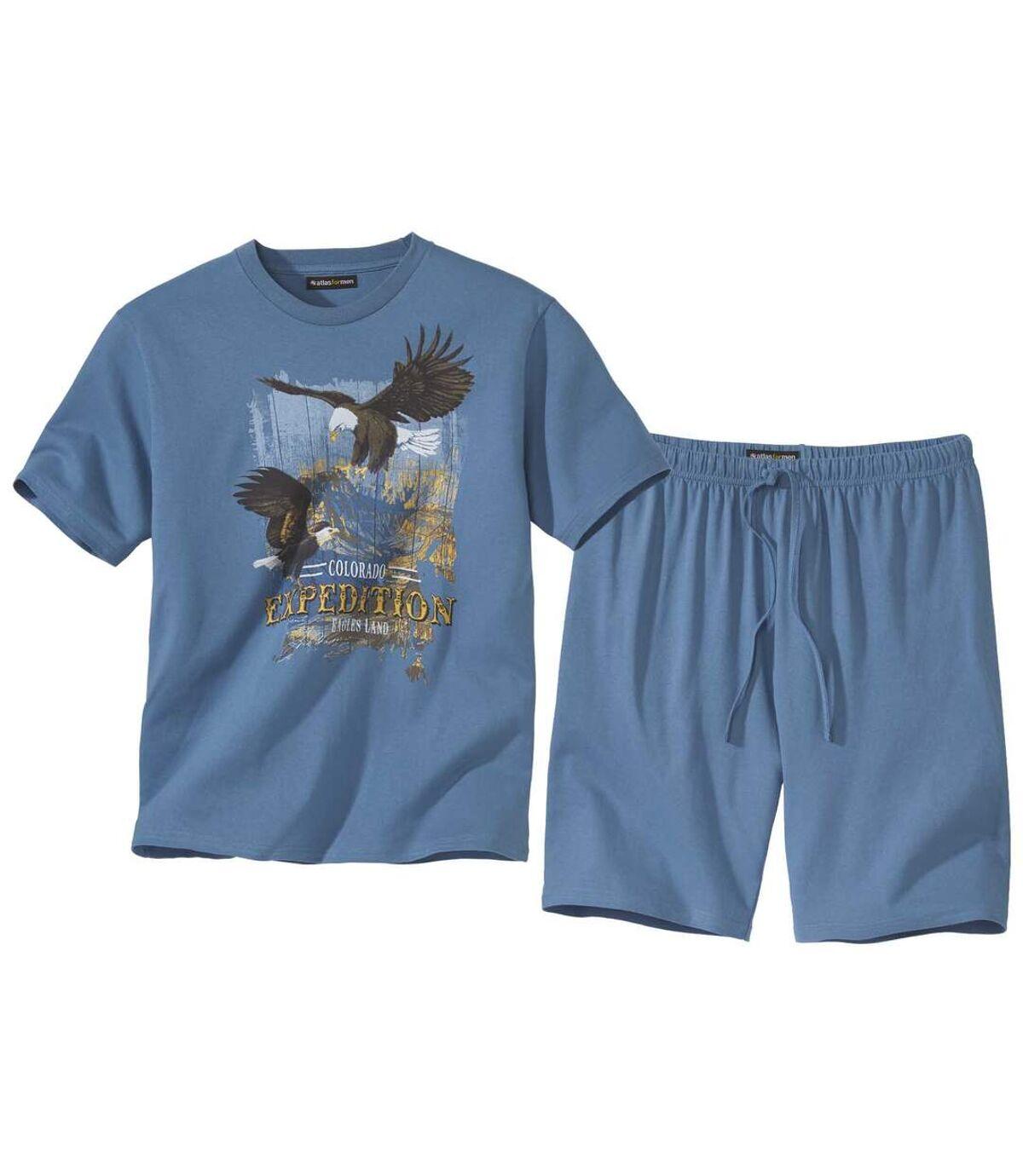 Piżama z szortami Colorado Eagles Atlas For Men