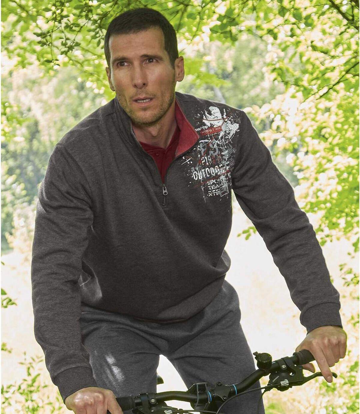 Moltonový pulóver Outdoor Park Atlas For Men