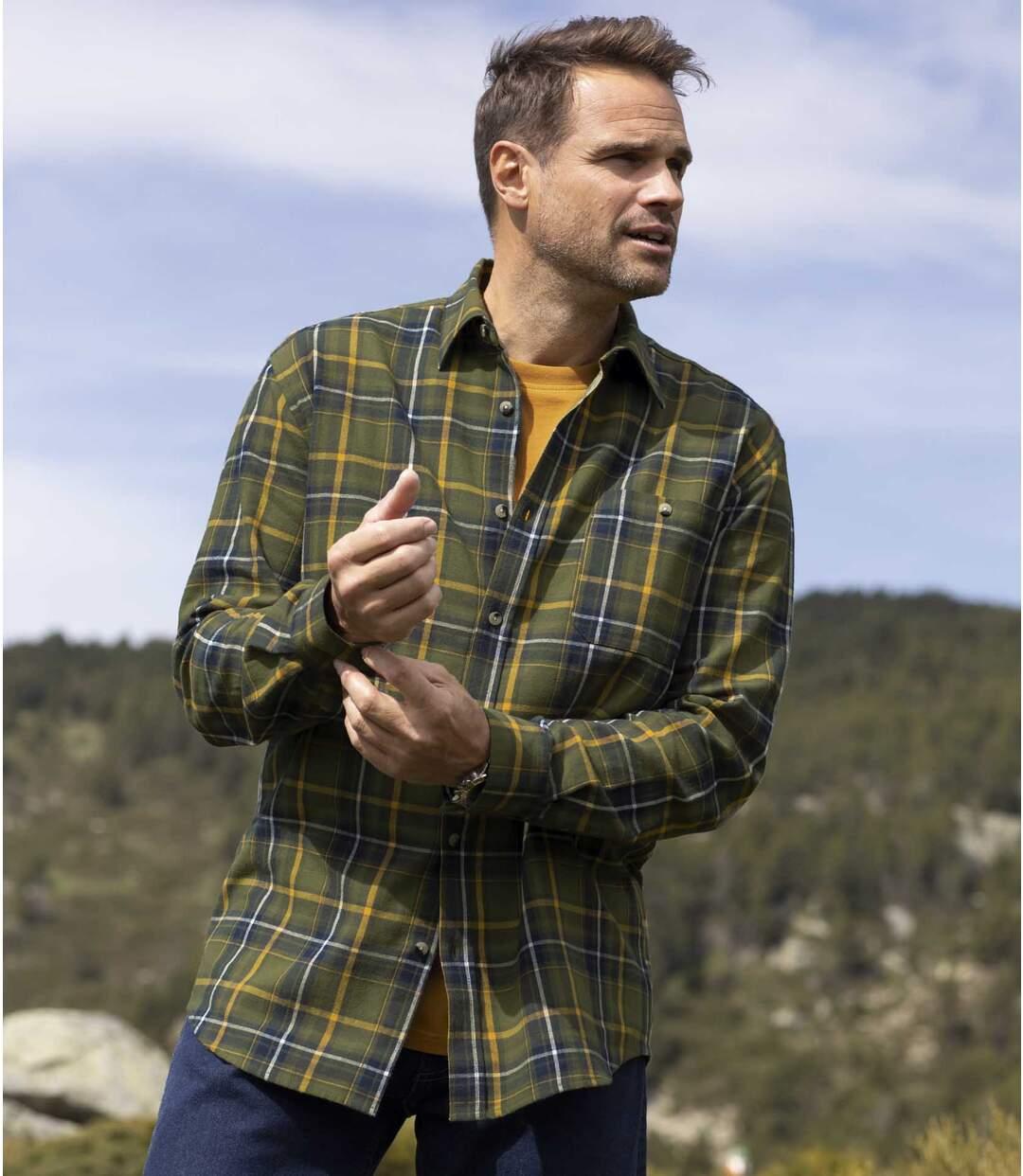Flanellen overhemd Forest  Atlas For Men