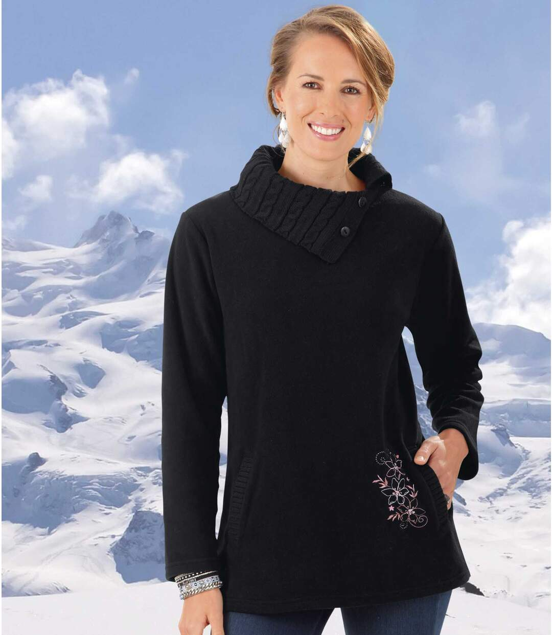 Women's Polar Fleece and Knit Jumper