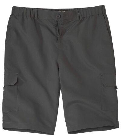 Men's Grey Cargo Shorts