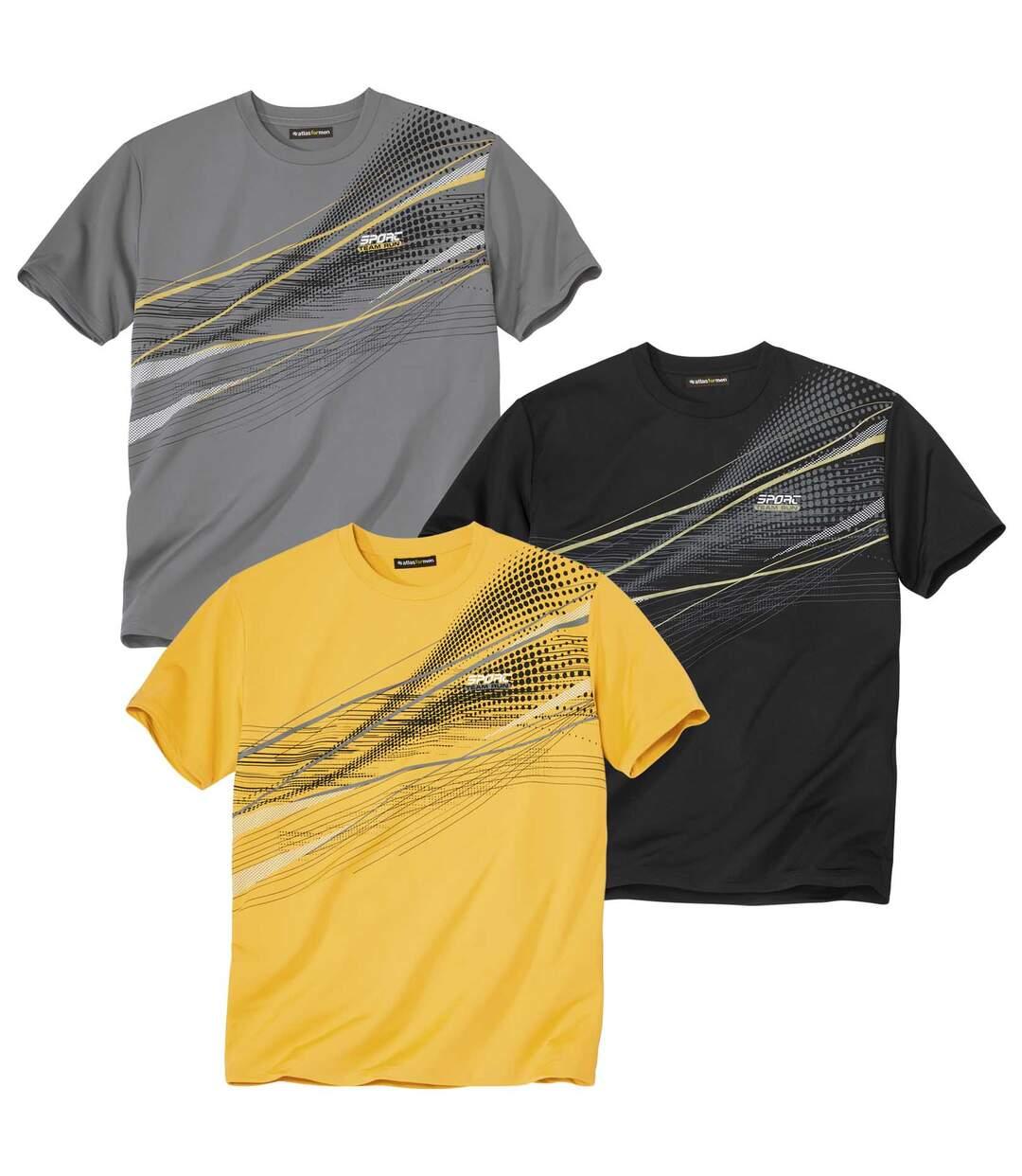 Set van 3 T-shirts Team Sport  Atlas For Men