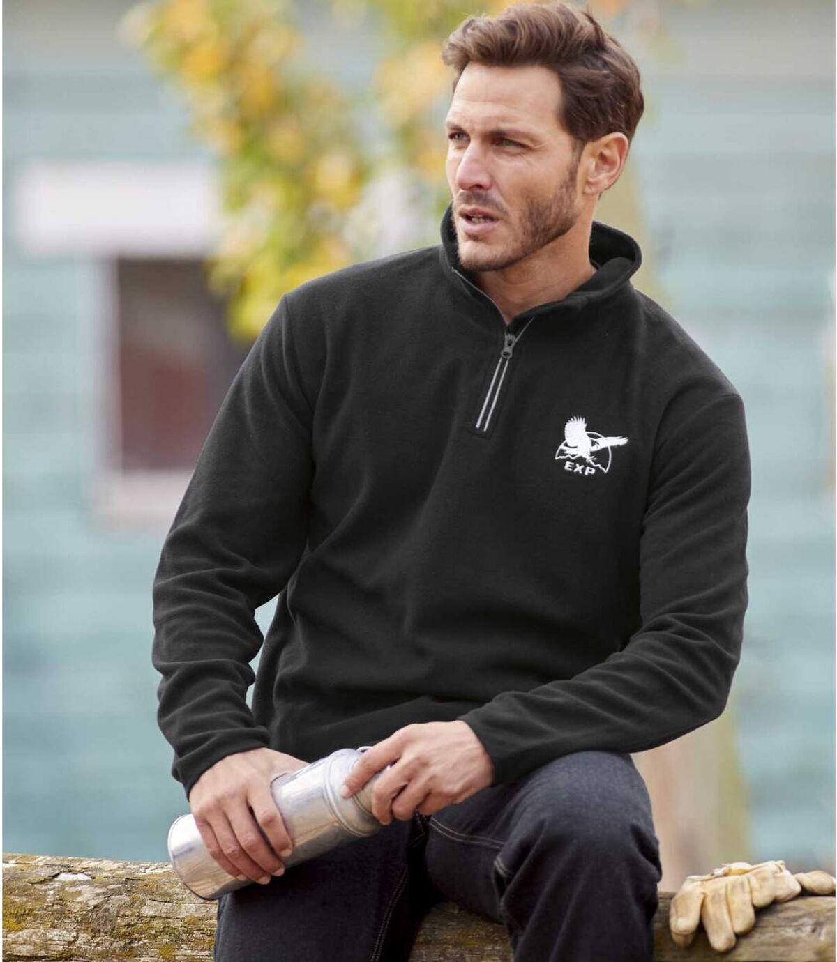 3 darabos mikropolár pulóver szett Atlas For Men