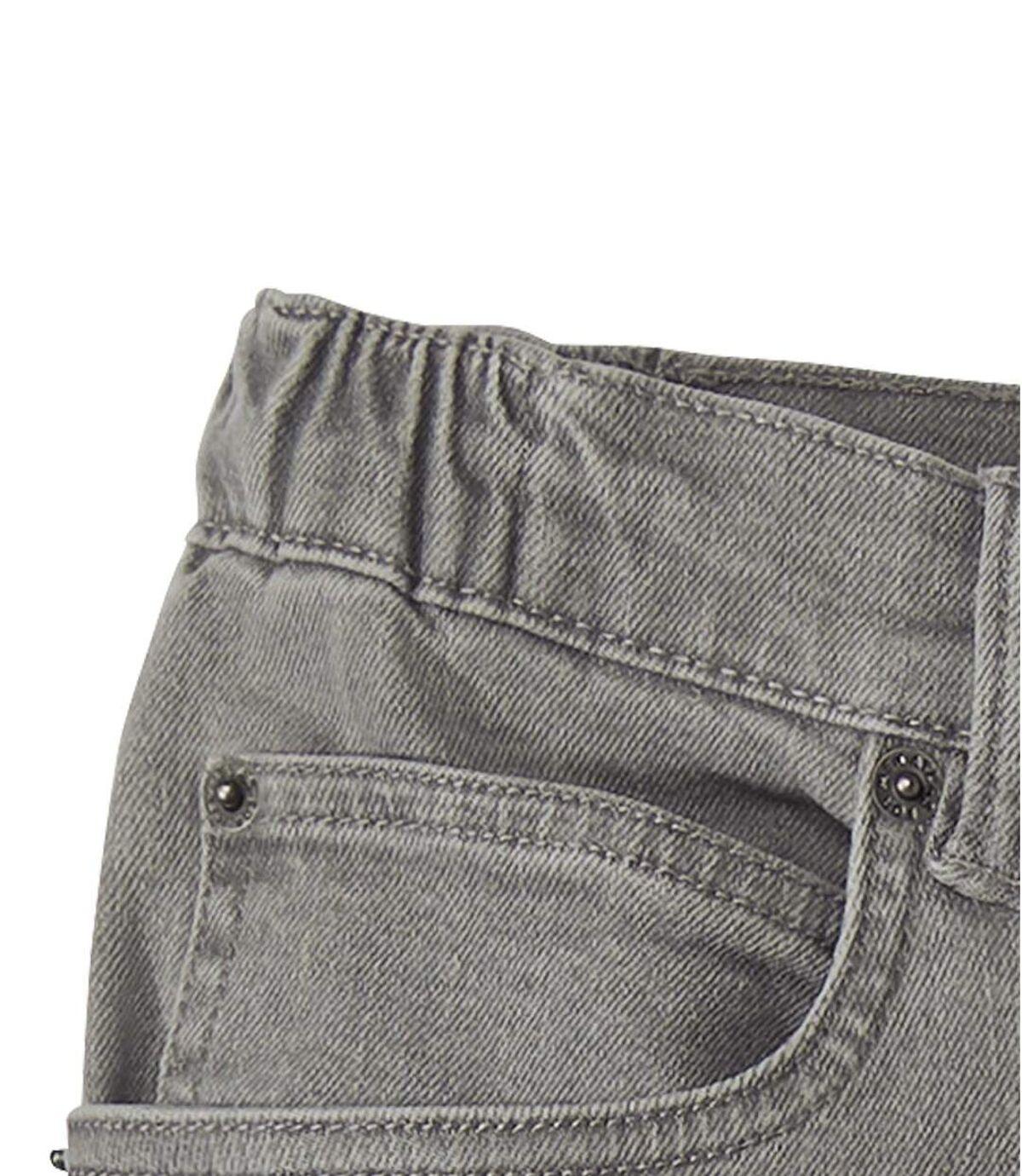 Jeans Stretch Gris Taille Semi-Elastiquée  Atlas For Men