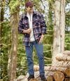 Men's Regular Fit Stretch Blue Jeans Atlas For Men