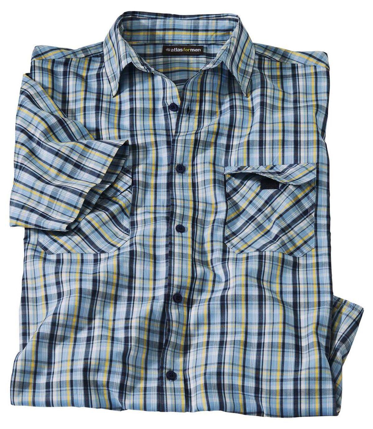 Letnia koszula w kratę Atlas For Men