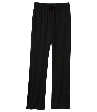 Women's Black Loose Fit Trousers