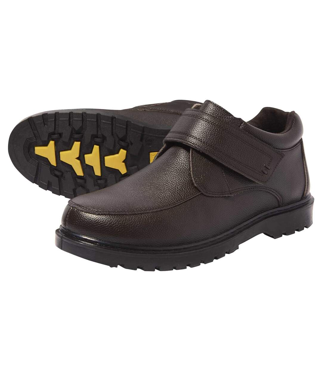 Skórzane buty z rzepem Atlas For Men
