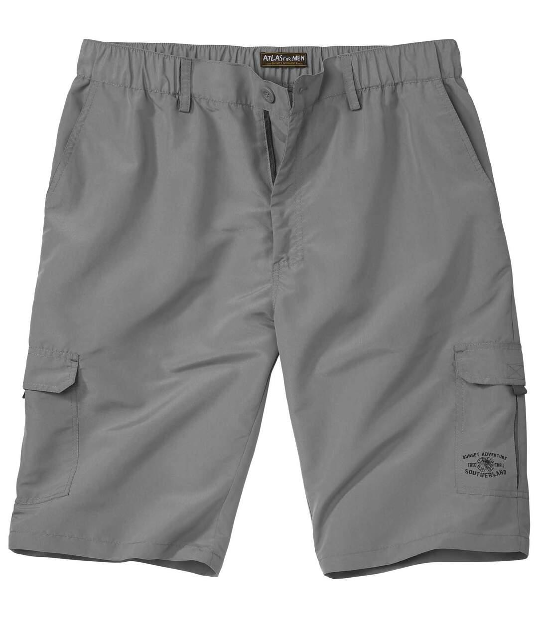 Men's Grey Free Trail Microfibre Shorts