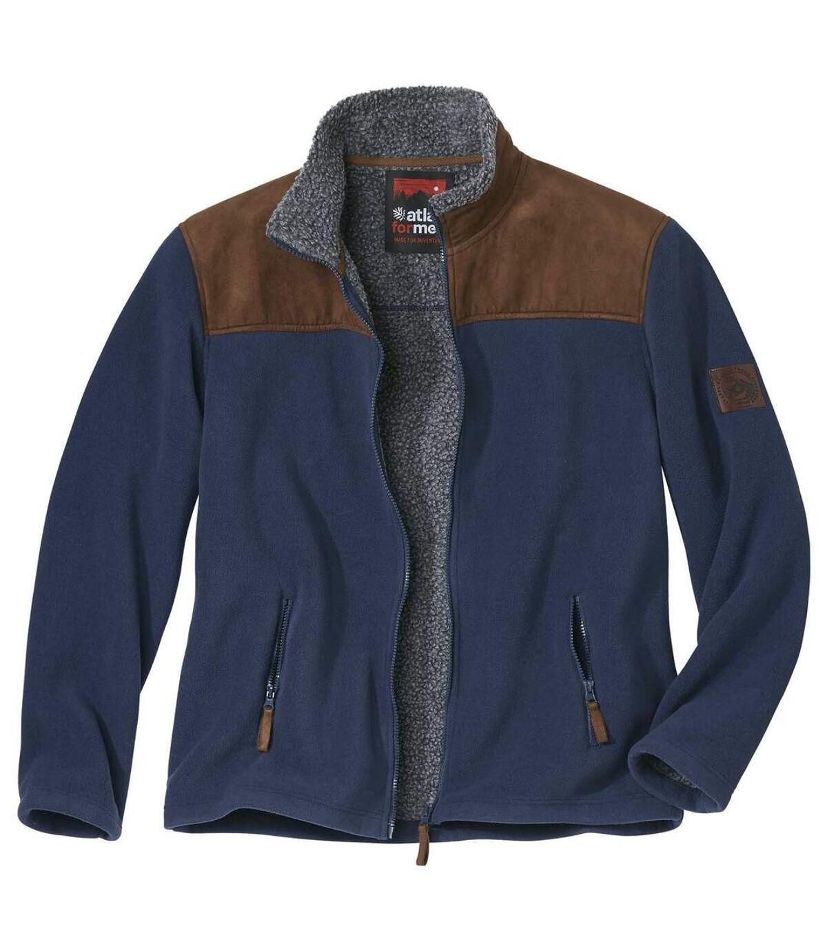Fleecová bunda Atlas zateplená umělou kožešinou  Atlas For Men