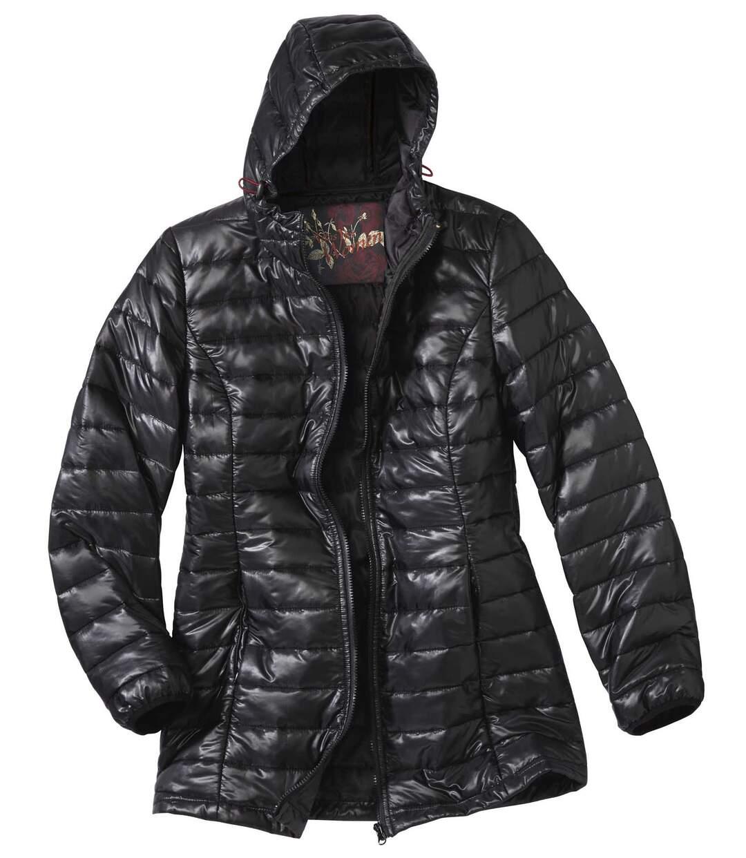 Pikowana kurtka puchowa