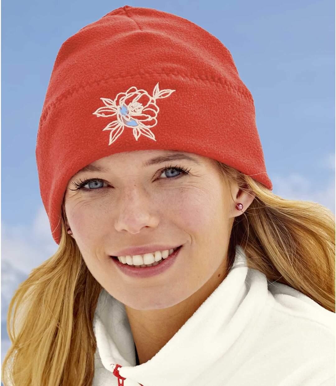 Fleecová čepice s výšivkou Atlas For Men