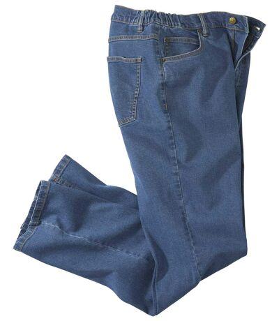 Stretch-Jeans Komfort mit Regular-Schnitt