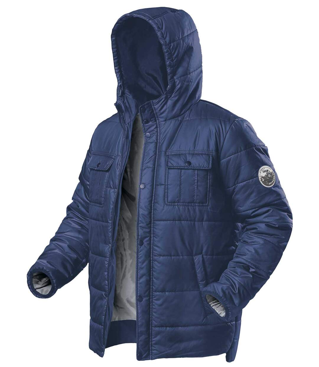 Doudoune Homme Bleue Authentic Outdoor