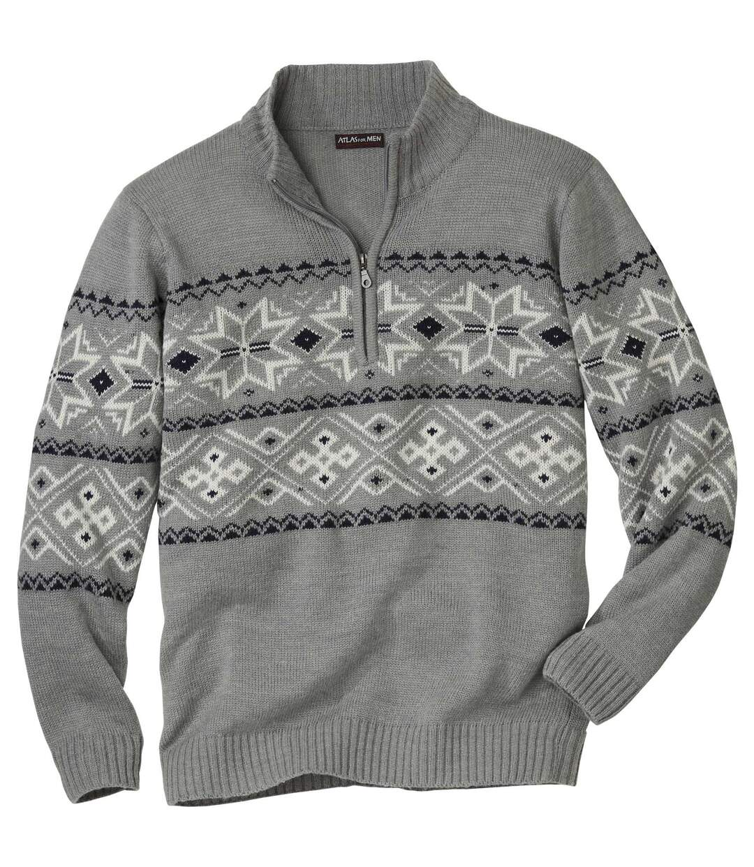 Trykotowy sweter Nordic Snow