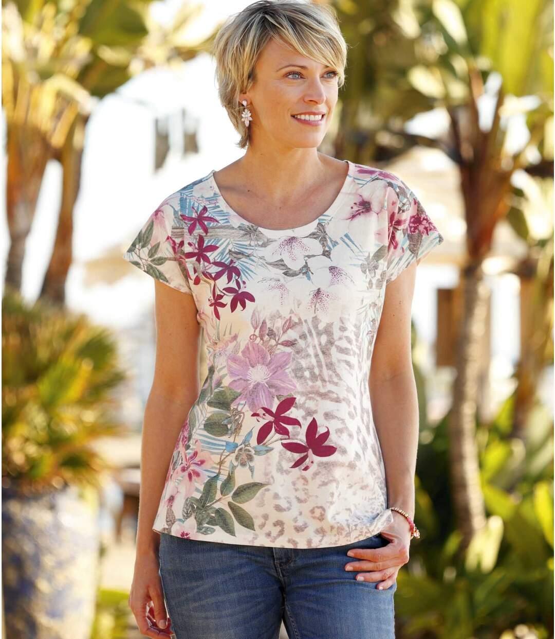Tee-Shirt Ambiance Tropicale