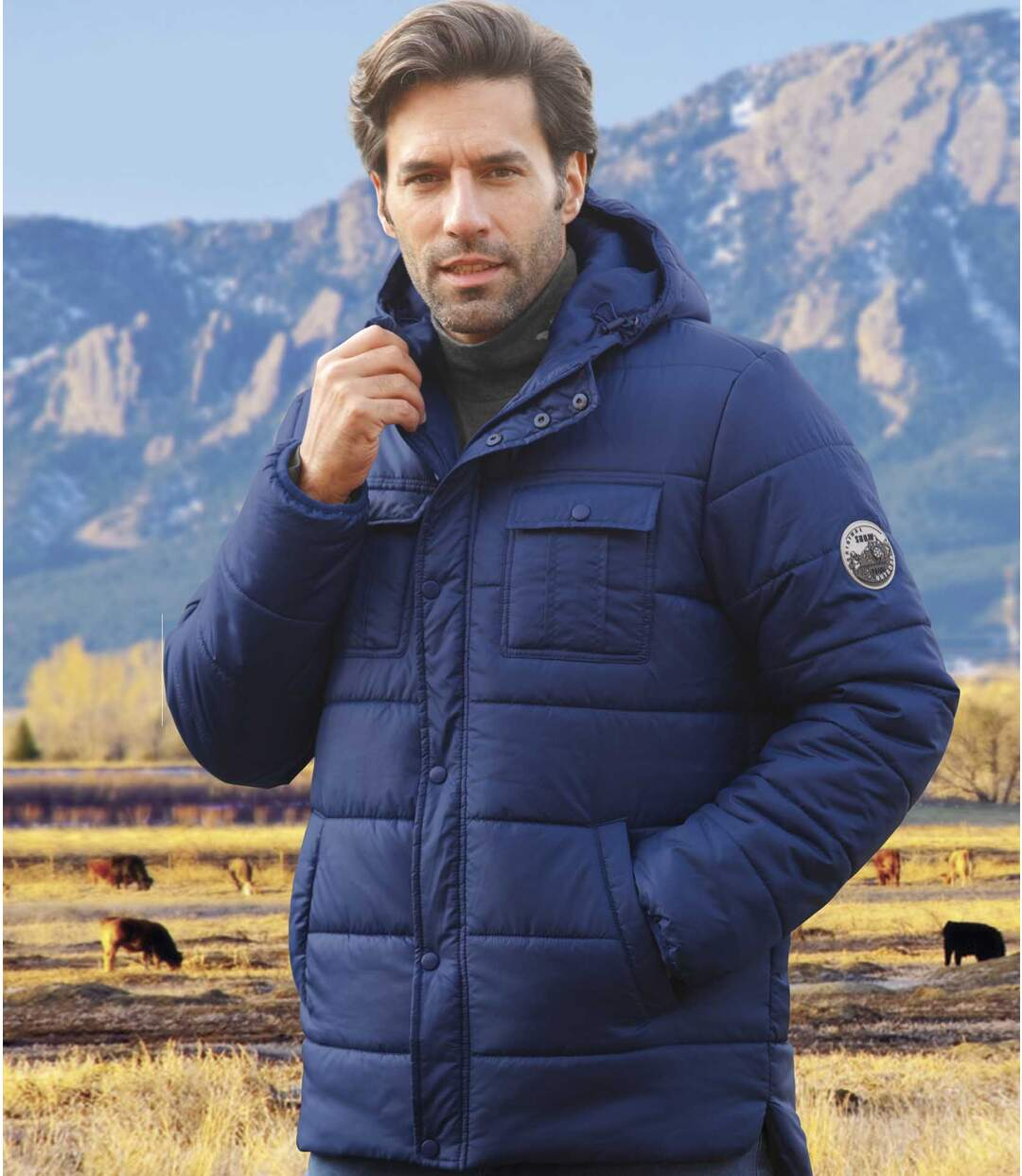 Wattierte Jacke Authentic Outdoor