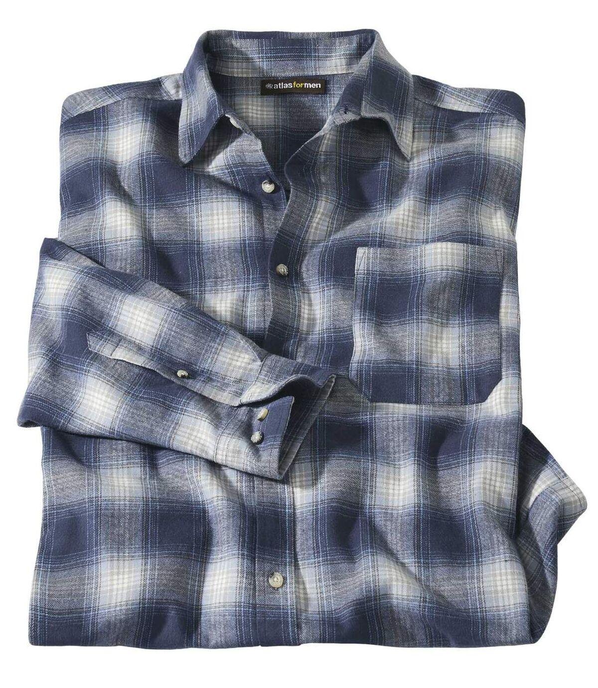Flanelová kockovaná košeľa Fantázia Atlas For Men