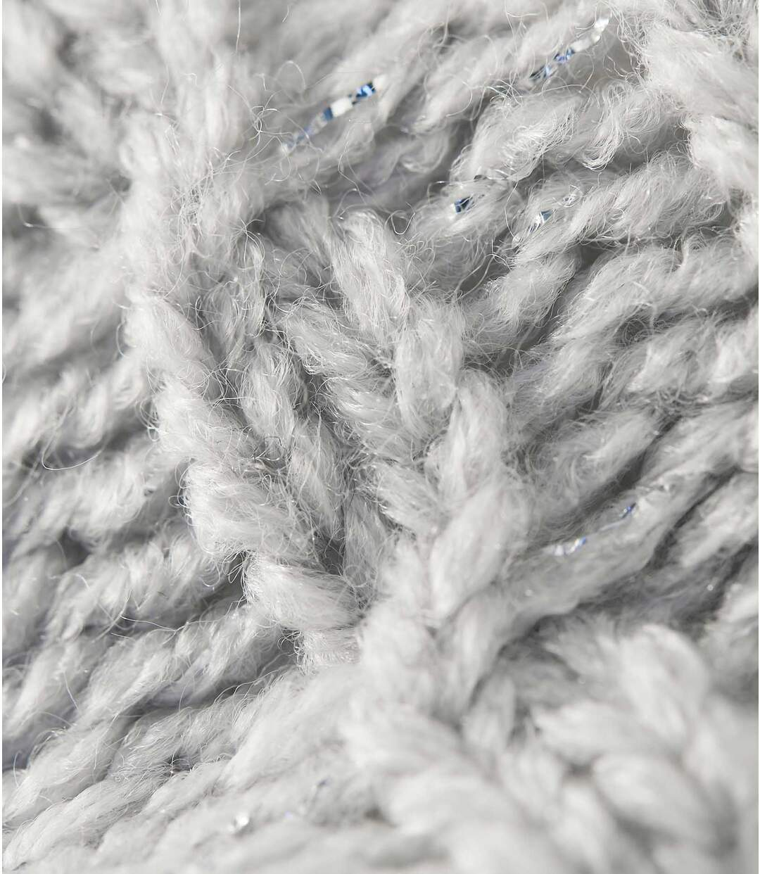 Hebký pletený svetr sfleecovou podšívkou