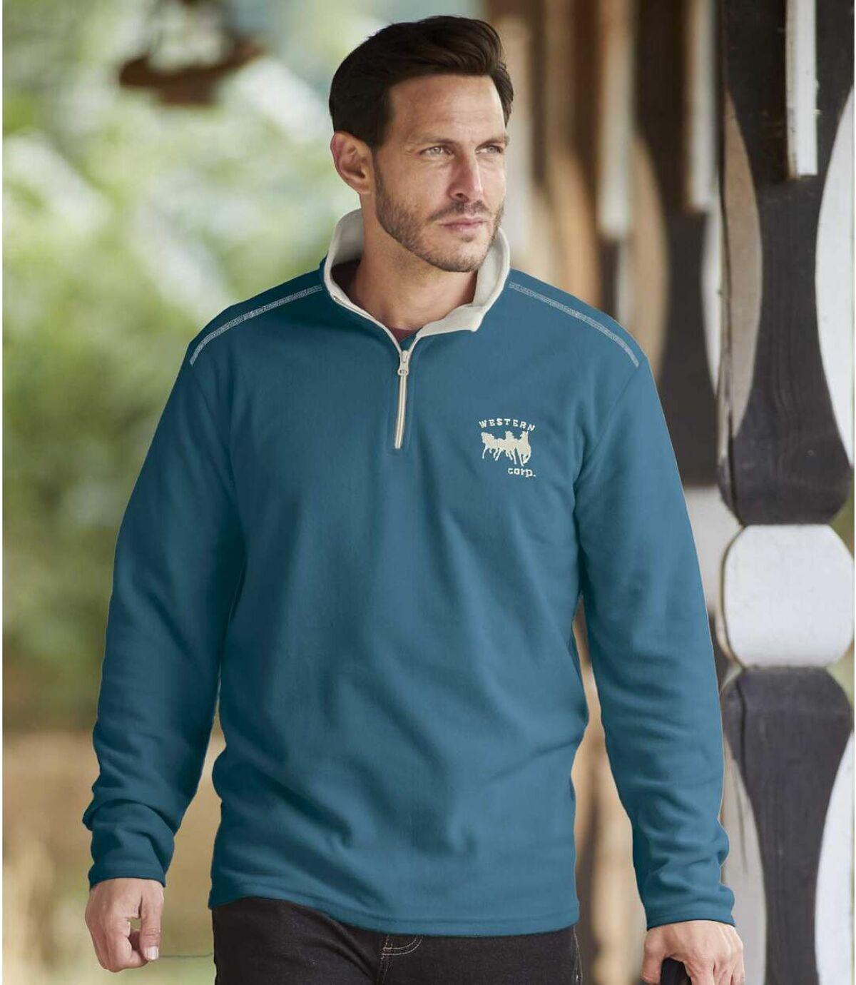 Set van 2 microfleece sweaters Western Corp Atlas For Men