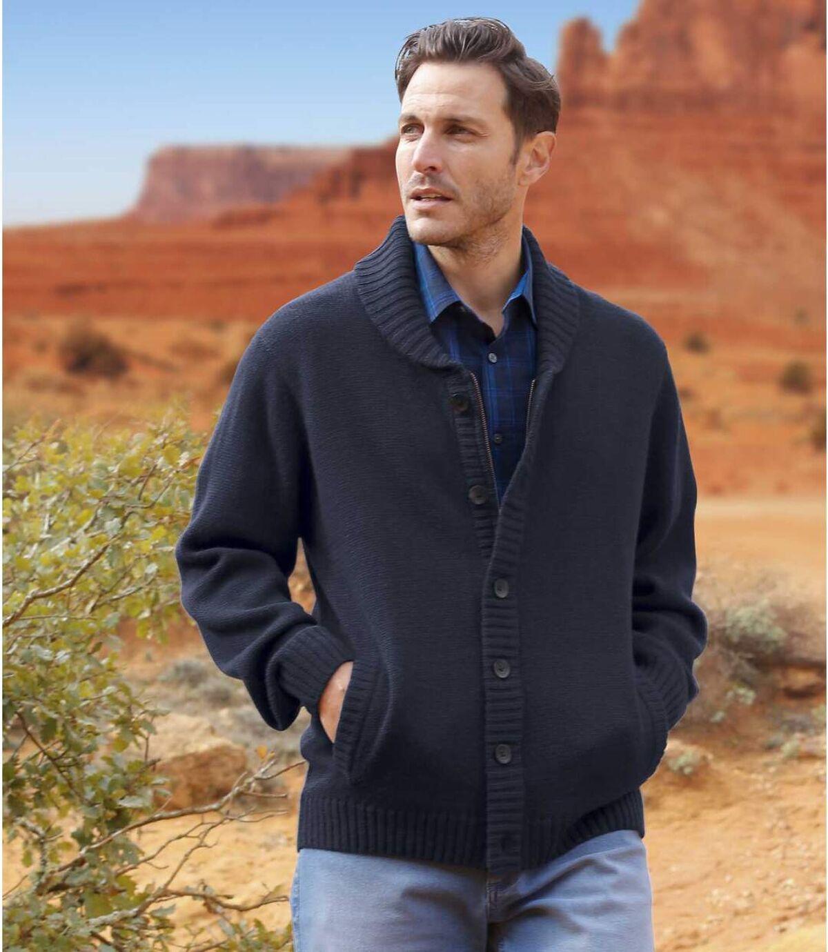 Vest met sjaalkraag Sonora Desert Atlas For Men