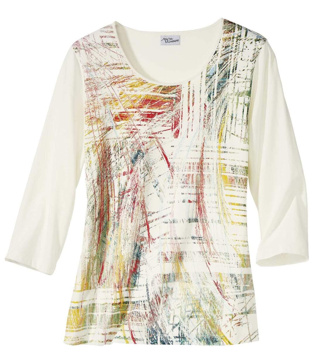 T-Shirt mit Grafik-Dekor