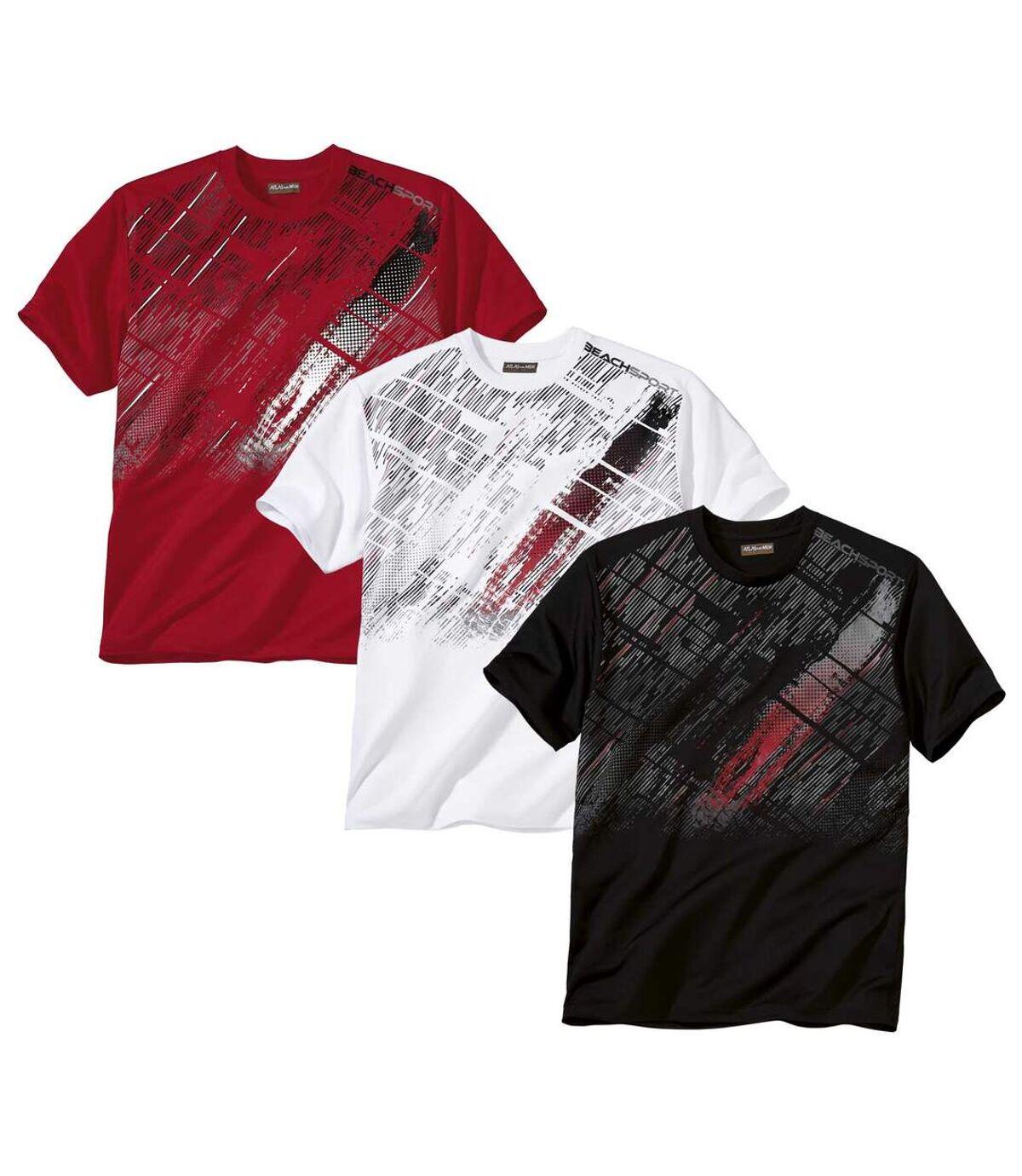 3 darabos Beach Sport póló szett Atlas For Men