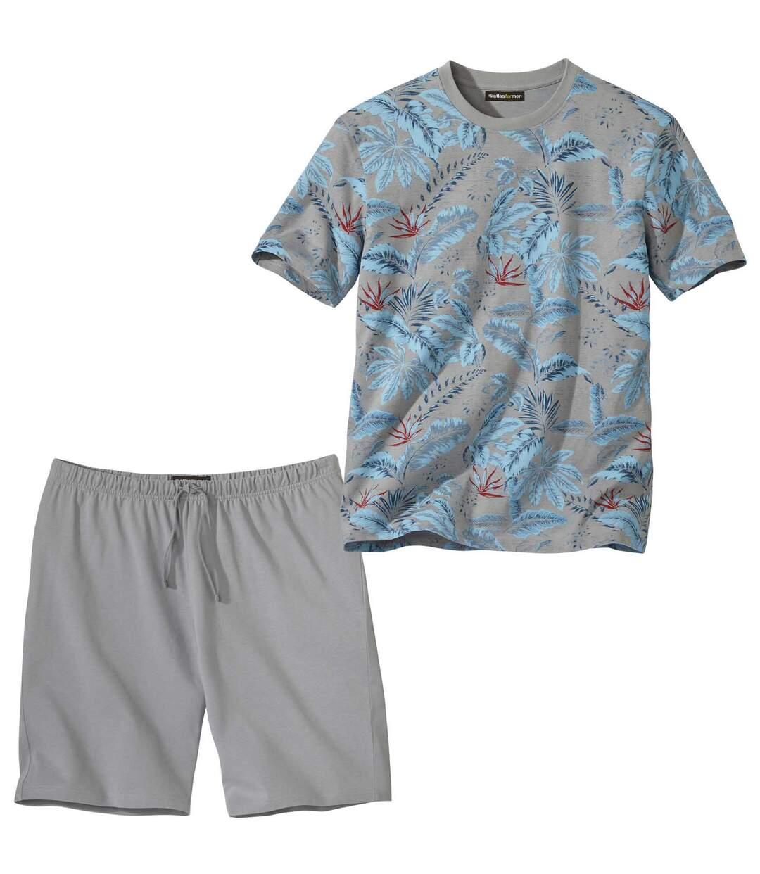 Piżama z szortami Palm Beach