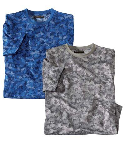 Súprava 2maskáčových tričiek