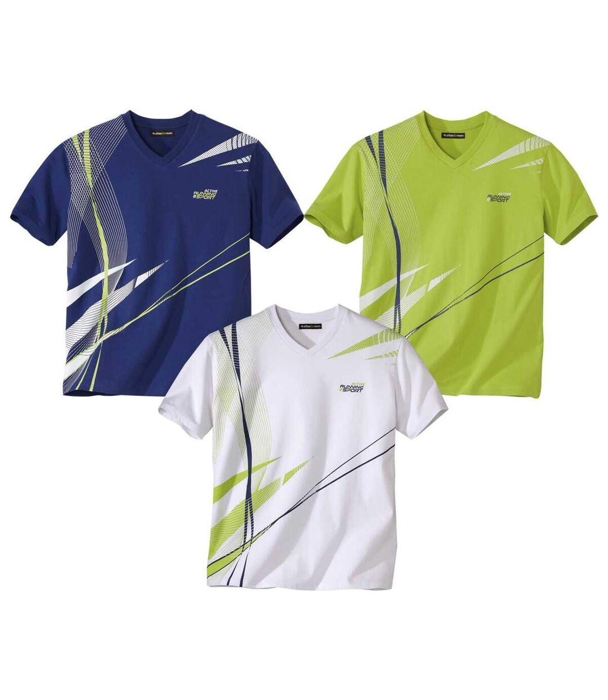 3er-Pack sportliche T-Shirts Atlas For Men