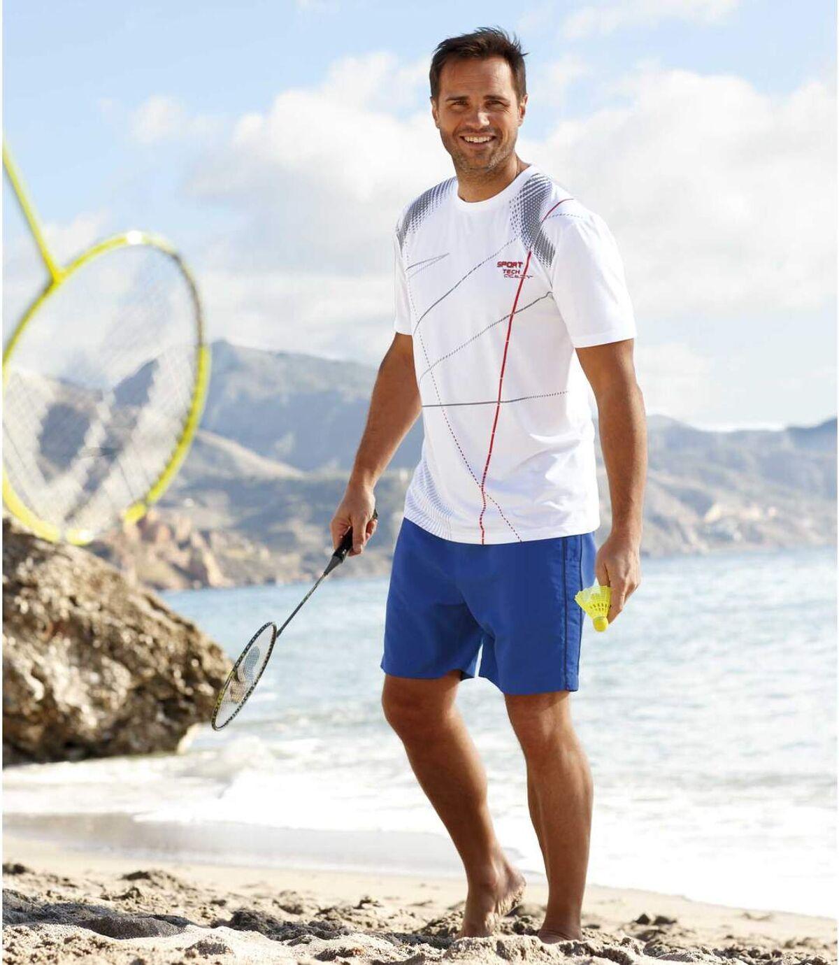 Sada 2 sportovních šortek Nautic Ocean Atlas For Men