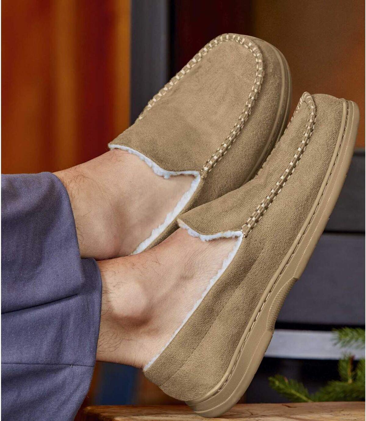 Zateplené semišové papuče Atlas For Men